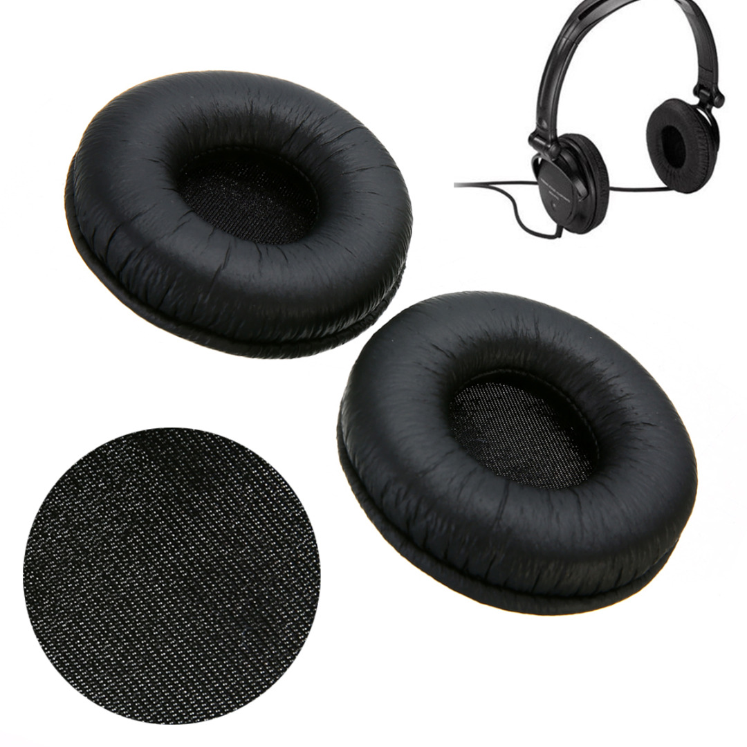 Mayitr 1Pair 7CM High Quality Replacement Ear Pads Cushion for Sony MDR-V150 Audio Technica Headphone цена