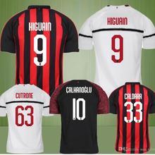 49707cf2e Hot sale AC milan jersey Men best quality 18 19 soccer jersey 2018 2019  football shirt
