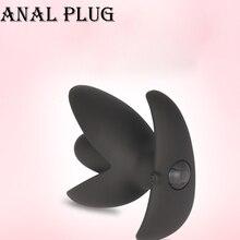 Yunman 10 частоты простаты Массажер вибрационный USB зарядки V Порты и разъёмы Анальная пробка вибратор Секс-игрушки