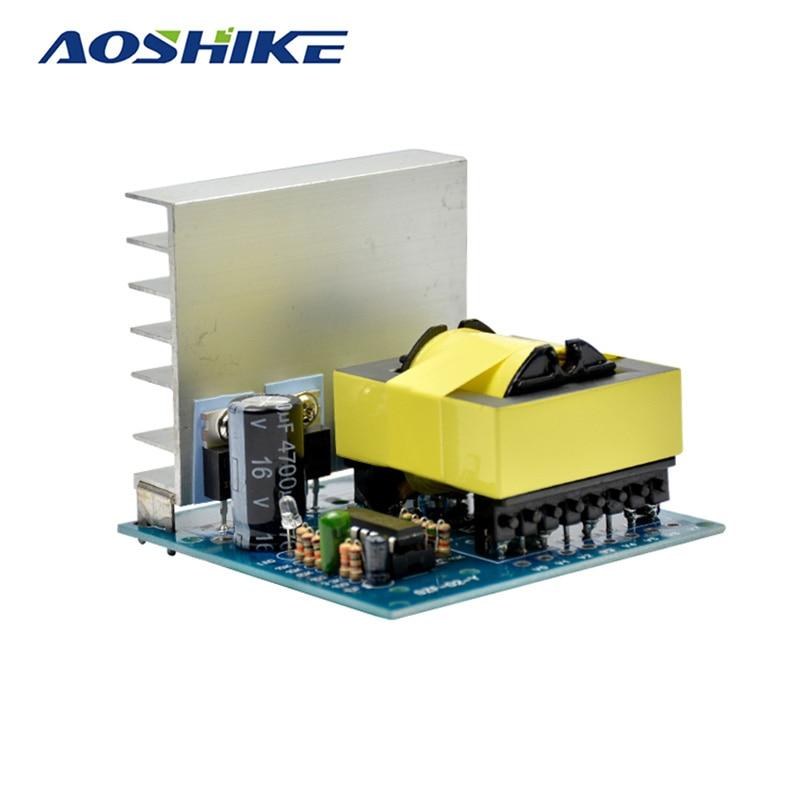 Aoshike DC-AC Converter 12V to 220V 380V 18V AC 500W Inverter Board Pre booster module cxa p1212b wjl pcu p091b dc to ac converter high voltage circuit board