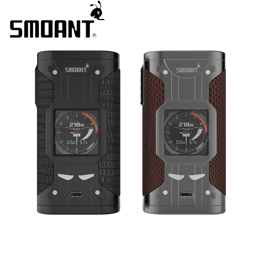 Smoant Cylon TC Box MOD 218W Output Fit VW/TCR/TC Mode Powered by Dual 18650 Battery No Battery with Screen for Vape E Cigarette original electronic cigarette tc mod smoant cylon tc 218w box mod 218 e cigarette mod with 1 3 inch screen vaporizer vaper