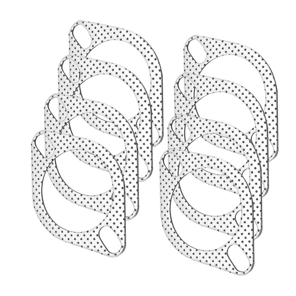 CNSPEED Auspuffrohr Flansch Aluminium 5 teile/los 2,5 zoll = 63mm ...