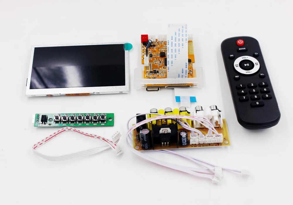4 3 inch Lossless Audio Bluetooth Receiver Decoder Board DTS FLAC APE AC3  WAV MP3 Decoder Board Decode Board