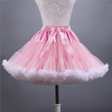 2019 Ruffles Petticoat Underskirt Women MIni Tulle Puffy Short Vintage Wedding Bridal Rockabilly TuTu