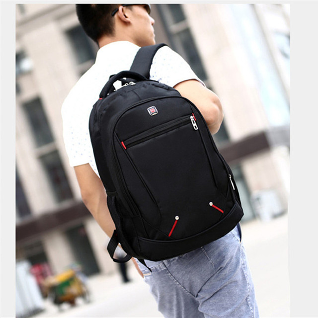 13a0d629a7ec ... Design Casual Solid Color Material Oxford Man s Backpack Multi-functional  Large-capacity Student Schoolbag Simple Bag. Previous. Next