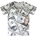 2016 niños 3D camiseta de moda muchacho fresco de manga corta de impresión T-Shirt Chocolate carretera ojo Animal Money marca diseño Tee Tops