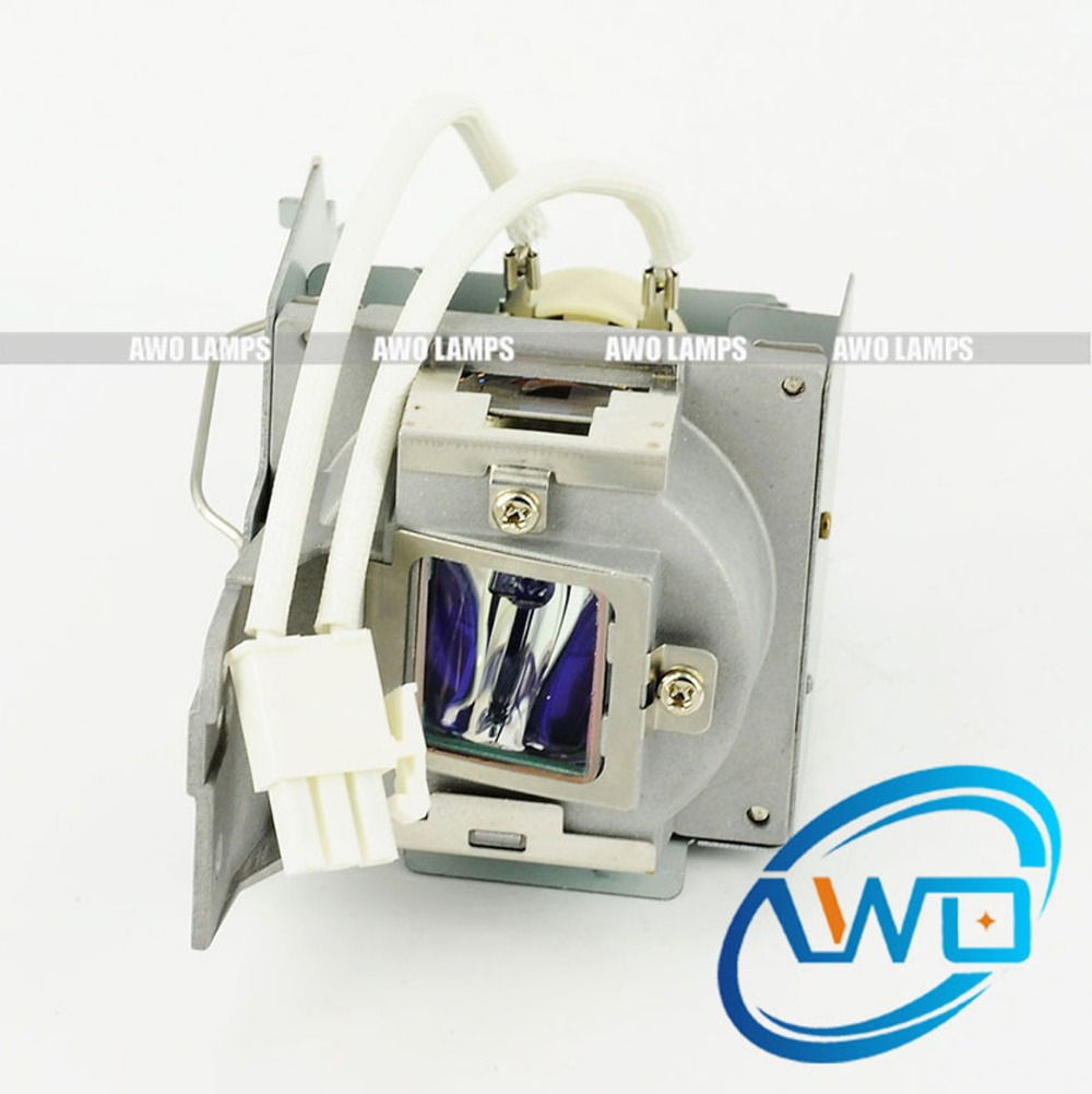 AWO Compatible Replacement Projector Lamp 5J.J7T05.001 with Housing for BENQ Projector MW817ST awo compatibel projector lamp vt75lp with housing for nec projectors lt280 lt380 vt470 vt670 vt676 lt375 vt675