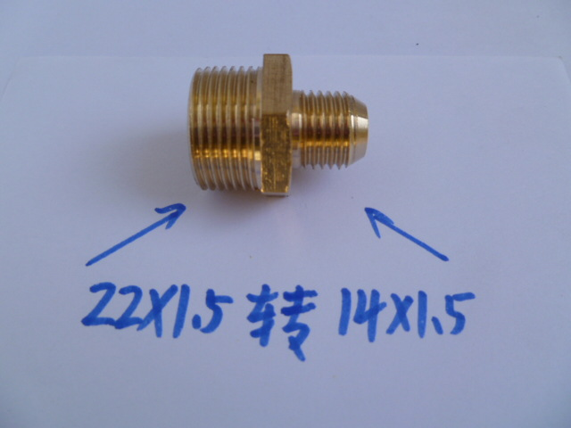 High Pressure Cleaning Machine Tube Modified 380 Type To 58 Type Adapter Outside M14X1.5 Turn Outside M22X1.5
