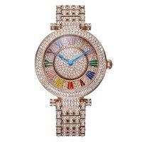 Часы женские  модные  с кристаллами