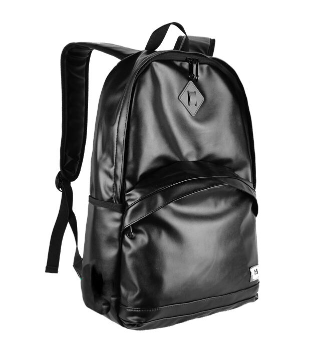 Black Leather Backpack Mens – TrendBackpack