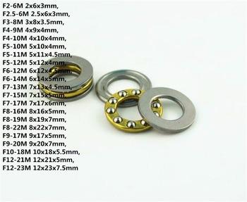 10PCS F2-6M F2.5-6M F3-8M To F8-16M Mini 3-in-1 Surface Bearing Axial Ball Bearing Thrust Bearing Roller Bearing zokol bearing 22217ca w33 spherical roller bearing 3517hk self aligning roller bearing 85 150 36mm