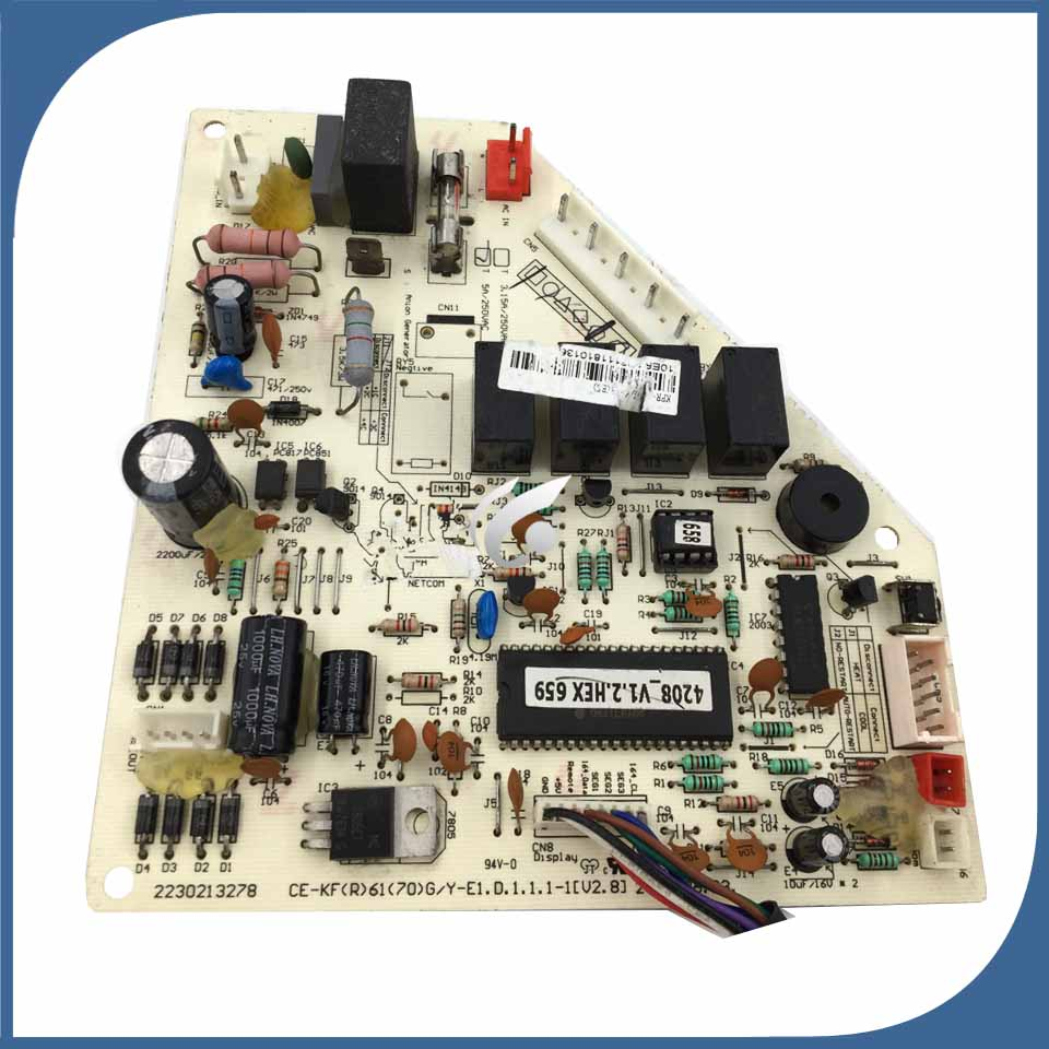 95% new good working for air conditioning Computer board KFR-60G/Y-T6(E5) CE-KF(R)61(70)/Y-E1 good working95% new good working for air conditioning Computer board KFR-60G/Y-T6(E5) CE-KF(R)61(70)/Y-E1 good working