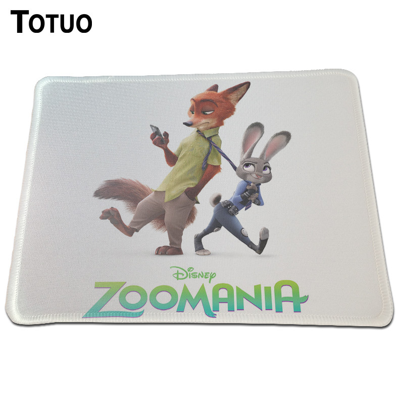 Time Limited Rushed Durable Lock Edge Mousepad Crazy Animal City Print Gaming Mice Mat For Optical Laster Anime Mouse Pad
