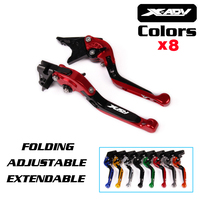 Motorcycle Folding Extendable Brake Clutch Lever Brake Clutch Levers With Logo X ADV For Honda XADV