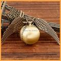 New Fashion Harry Potter quartz watches Vintage Bronze Punk Steampunk Pocket Watch Steam Train Pendant Chain Necklace watch