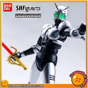 "Image 1 - Japan Kamen ""Masked Rider Black"" Original BANDAI Tamashii Nations SHF/ S.H.Figuarts Toy Action Figure   Shadow Moon V2.0"