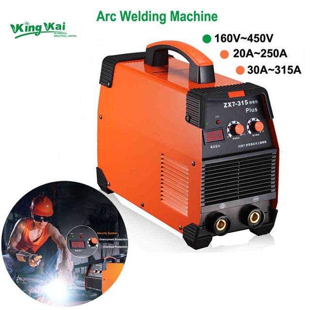 160-450V 20-315A Flagship IGBT Inverter Portable Arc Welder Equipment Electric Welding Machine ZX7-250 315