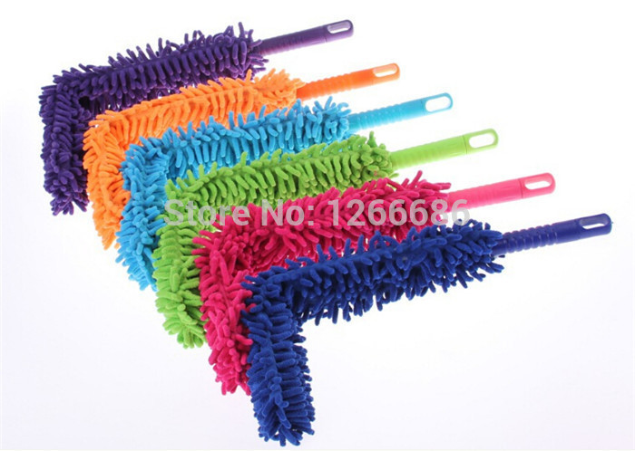 100pcs/lot Car Truck Microfiber Duster Dirt Cleaning Wash Brush Household Tool