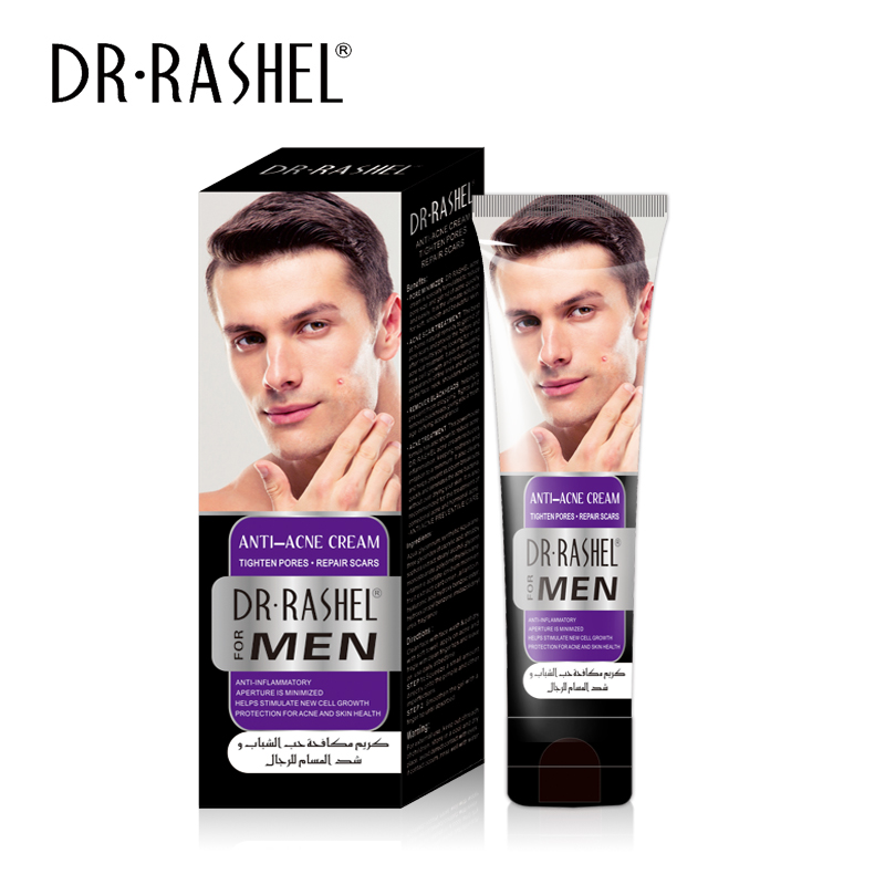 DR RASHEL Anti Acne Cream Tighten Pore Repair Scar Pimple Spot Treatment Lotion For Men 60 ML in Facial Self Tanners Bronzers from Beauty Health