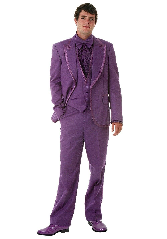 Tailor Made Purple rendimiento traje para payaso 2 unidades novio ...