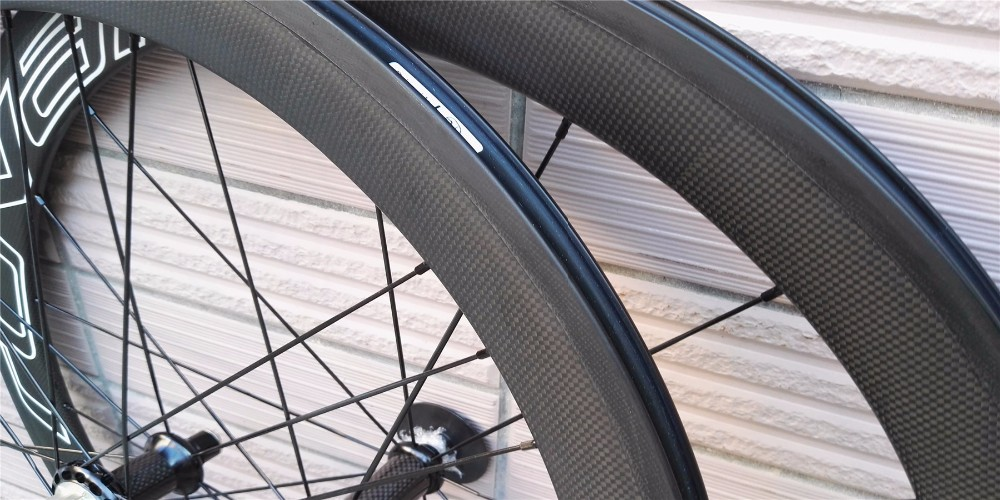 good price 700c width 23mm oem decal chinese carbon road bike wheels bicycle clincher wheels 50mm
