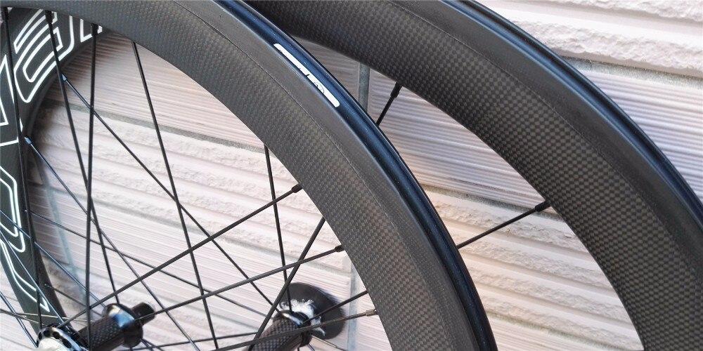 dobrá cena 700c šířka 23mm oem obtisk čínská karbonová kola silniční kola kola zatahovací kola 50mm keramický čedičový povrch