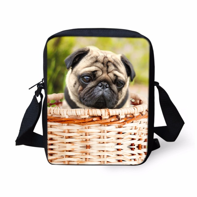 3D Kawaii Puppy Messenger Bag Cute Pet Dog