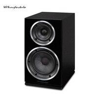 Wharfedale Diamond 220 полочная Динамик s Hifi 2,0 деревянный ящик домашнего Динамик комплект стерео пассивная объемного домашнего Театр звук Системы