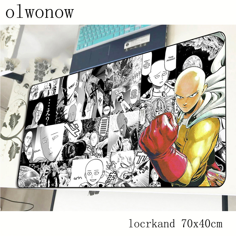 ONE PUNCH-MAN mouse pad gamer New arrival 700x400x2mm notbook mouse mat gaming mousepad large thickess pad mouse desk padmouse