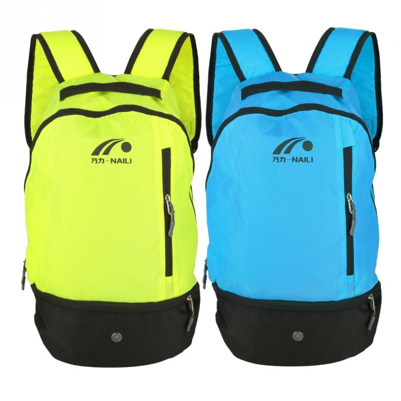2 Colors Outdoor Sports Multifunctional Football Shoulders Bag Nylon Durable Soccer Ball Training Storage Backpack