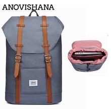 ANOVISHANA Men Women's Daypack Nylon Travel School Laptop Ba