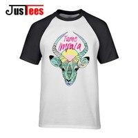 2017 Newest Fashion Colorful Tame Impala T Shirt Men Animal Print T Shirt Summer High Quality