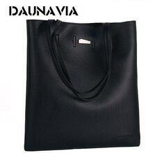 DAUNAVIA Brand women PU leather messenger bags shoulder handbags fashion luxury handbags women bags designer bags for women