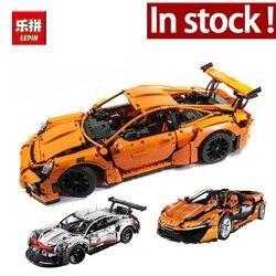 Lepin 20086 Technic Series Supercar Bugatti Building Blocks 4031Pcs Bricks Educational Toys Compatible 42083 Boy Gifts Model