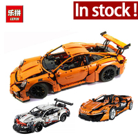 Lepin 20086 Technic Series Supercar Bugatti Building Blocks 4031Pcs Bricks Educational Toys Compatible 42083 Boy Gifts Model