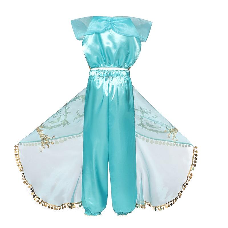 HTB13VKPcoCF3KVjSZJnq6znHFXae Fancy Girl Princess Dresses Sleeping Beauty Jasmine Rapunzel Belle Ariel Cosplay Costume Elsa Anna Sofia Children Party Clothes