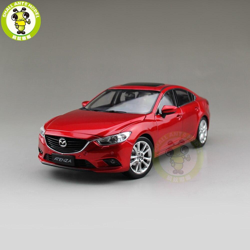1/18 ATENZA MAZ DA 6 Diecast Car Model Toy Boy Girl Gift Collection Red