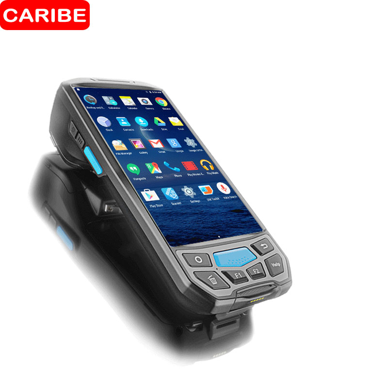 CARIBE Portable 1D 2D Barcode Scanner Handheld Android PDA Wireless Data Collector Terminal Wifi Bluetooth NFC Reader