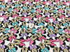 Mickey Lycra Knitted Cotton Fabric For Patchwork 4 Way Scalable Cartoon Cloth DIY Sewing Baby Girl