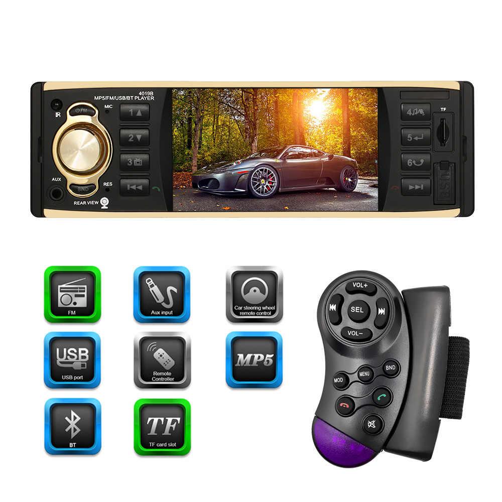 Autoradio كاسيت مسجل Automagnitola 1 الدين سيارة الصوت راديو MP5 مشغل وسائط متعددة اللاسلكية لمازدا فورد بيجو تويوتا فولكس فاجن
