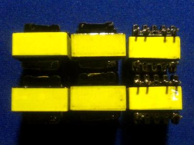 50pcs EE13-YF9V Vertical High Frequency Transformer50pcs EE13-YF9V Vertical High Frequency Transformer