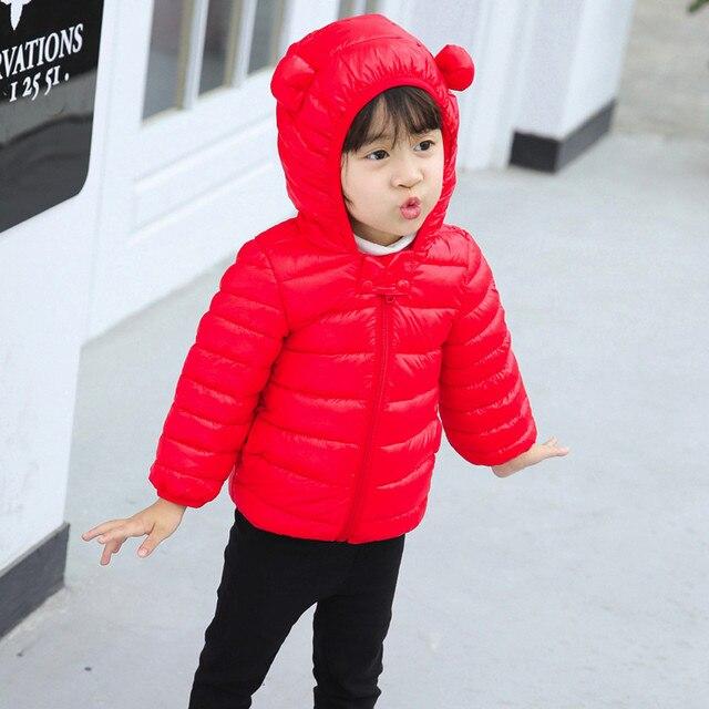 98fbedcbe Aliexpress.com   Buy Girls clothing warm Down jacket for Children ...