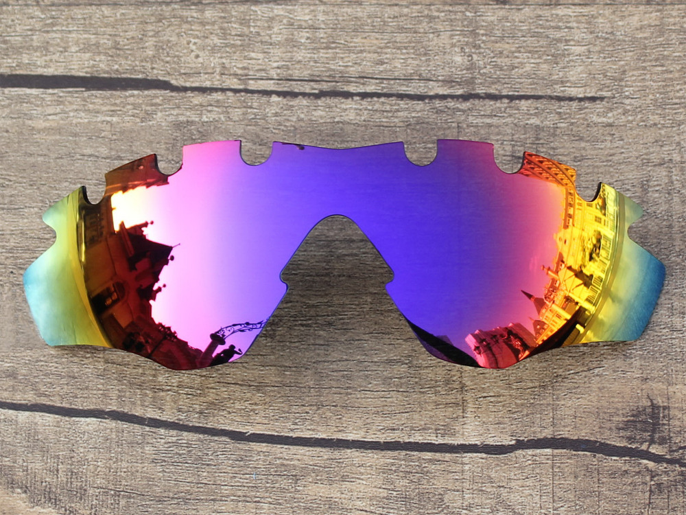 Purple Red Mirror Polarized Replacement Lenses For M2 Frame Vented  Sunglasses Frame 100% UVA   UVB Protection 58fcaec065