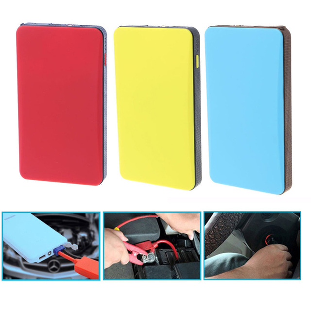Car-styling 12V 20000mAh Multi-Function Car Jump Starter Power Bank Emergency Charger Booster Battery dropshipping