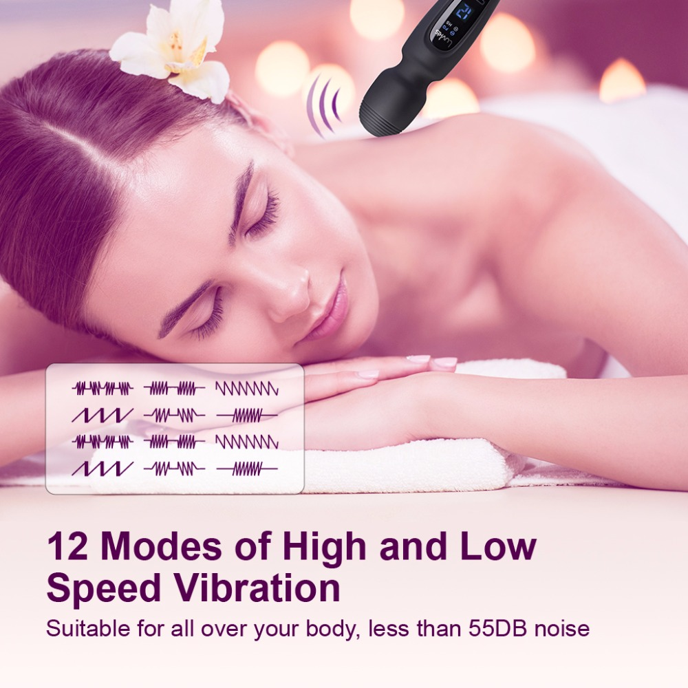 Vibrator for Women Luvkis Magic Wand Adult Sex Toy for Woman Masturbator Clit Vibro Dildo Waterproof Massager Sex Product Female