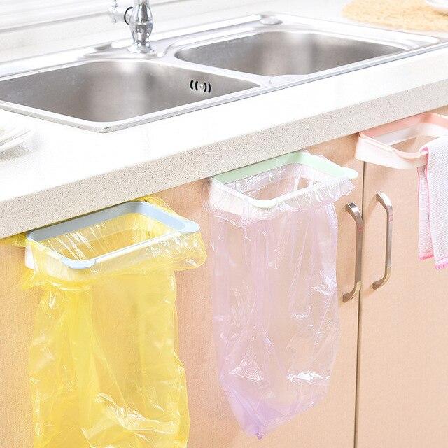 Nette Küche Schranktür Zurück Stil Halterung Müll Müllsack Haken Typ ...