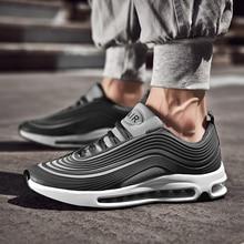 プラスサイズ 39 47 スニーカー男性ファッショントレーニング通気性の快適な軽量男性靴 # AB97