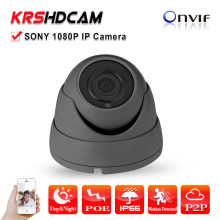 Mini POE IP Camera 2MP Full HD 1080P ONVIF room dome indoor sony imx323 Vandalproof Security CCTV P2P video camera surveillance