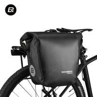 Rockbros Waterproof Bicycle Bags 18L Multifunctional Bike Rear Rack Saddle Bag Cycling Back Trunk Bag Mountain