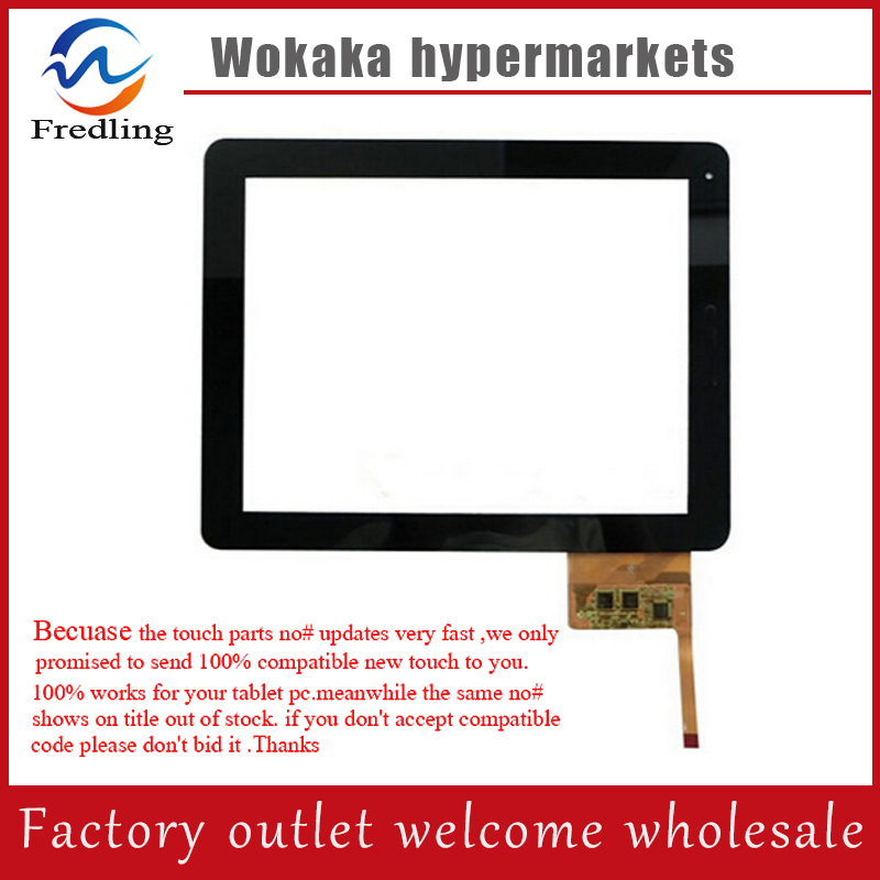 Black New 9.7 inch Rolsen RTB 9.4D GURU 3G Tablet touch screen panel Digitizer Glass Sensor replacement Free Shipping dg home обеденный стол arrondi grande